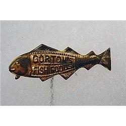 C. 1890'S GORTON'S FISH FOODS ADVERTISING STICKPIN