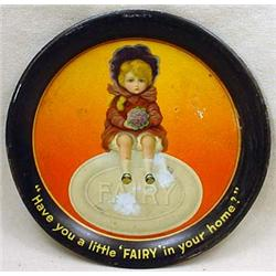 VINTAGE FAIRY SOAP ADVERTISING TIP TRAY