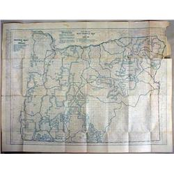 EARLY MAP OF OREGON