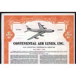 Continental Air Lines Inc.