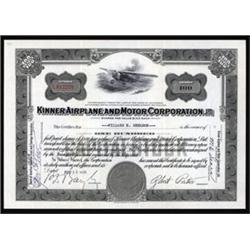 Kinner Airplane and Motor Corporation, Ltd.