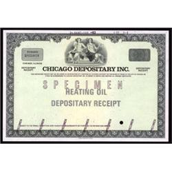 Chicago Depositary Inc.- Chicago Board of Trade Depositary Receipt.