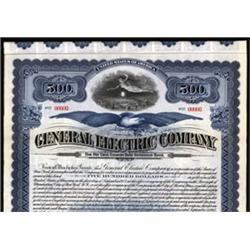 General Electric Company Specimen Bond