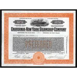 California-New York Steamship Company
