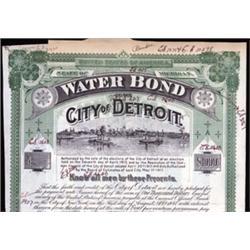 City of Detroit Bond