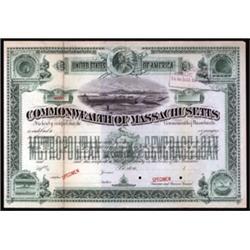 Commonwealth of Massachusetts Municipal Bond.