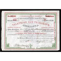South Eastern Dakota Telephone and Telegraph Company.