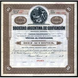 Sociedad Argentina de Edificacion
