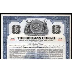 The Belgium Congo