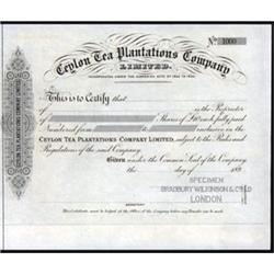 Ceylon Tea Planters Company Ltd.