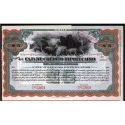 Caja de Credito Hipotecario, Letter of Credit.