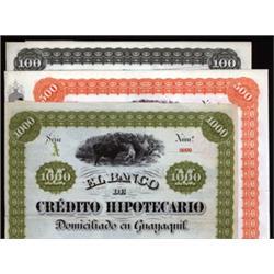 El Banco de Credito Hipothcario Domiciliado en Guayaquil