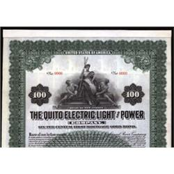 The Quito Electric Light and Power Company