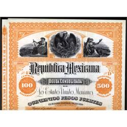 Republica Mexicana Deuda Consolidada de Los Estados Unidos Mexicanos
