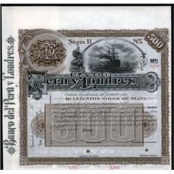 Banco del Peru y Londres