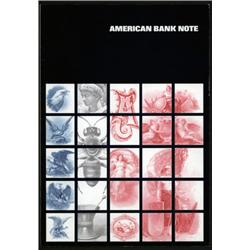 American Bank Note Company Advertising Booklet Collection.