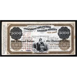 New York Clearing House Certificate Payable in Legal Tender Notes.