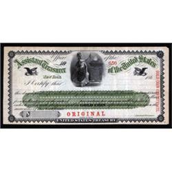 U.S. Treasury Gold Coin Certificate.