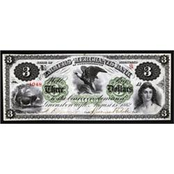 Maryland. Farmers and Merchants Bank Obsolete Banknote.