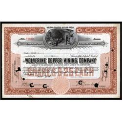 Wolverine Copper Mining Company.