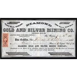 Diamond Gold and Silver Mining Co.