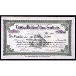 Original Bullfrog Mines Syndicate.