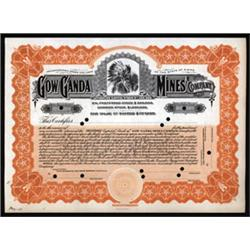 Gow Ganda Mines Company Specimen Stock.