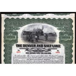 Denver and Salt Lake Railroad Company