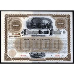 Minneapolis and Pacific Railway Company