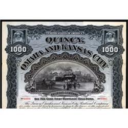 Quincy, Omaha and Kansas City Railroad Company
