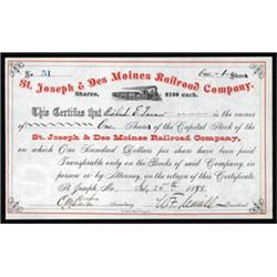 St. Joseph & Des Moines Railroad Company
