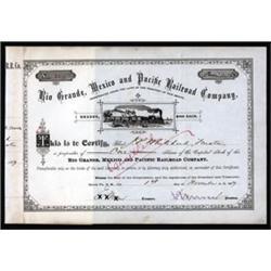 Rio Grande, Mexico and Pacific Railroad Company