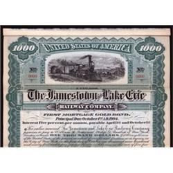 Jamestown and Lake Eire Railway Company