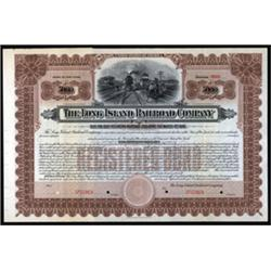 Long Island Railroad Company Specimen Bond.