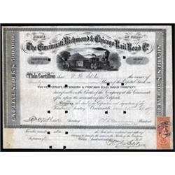Cincinnati Richmond & Chicago Rail Road Co. of Ohio
