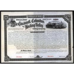 Cincinnati, Columbus and Hocking Valley Railway Company