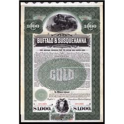 Buffalo and Susquehanna Railroad Company