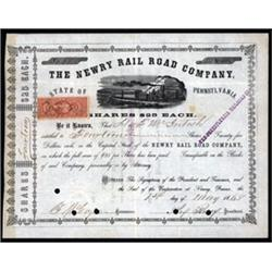 Newry Rail Road Company, State of Pennsylvania