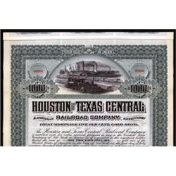 Houston and Texas Central Railroad Company, Lampasas Extension