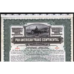 Pan American Trans Continental Railway Company, Uruguay Section