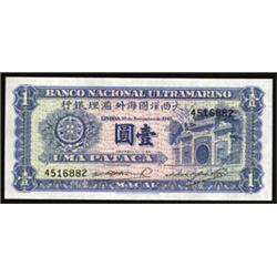 Banco Nacional Ultramarino, 1945 Regular Issue.
