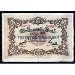 De Javasche Bank - 1876 Issue.