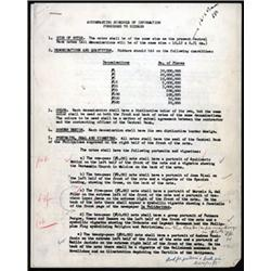 Security Bank Note Company Correspondence Furnished by the Central Bank of the Philippines For a Pro