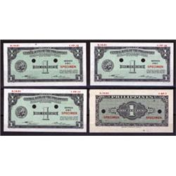 Central Bank of the Philippines Essay Banknote Set of 4.