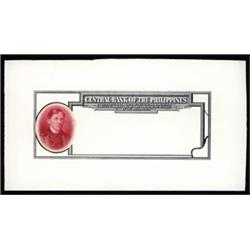 Central Bank of the Philippines Model - Essay Banknote.
