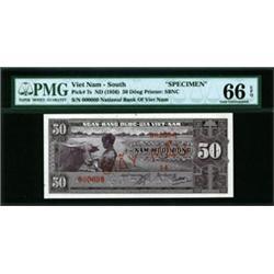 National Bank of Viet Nam High Grade Specimen Banknote