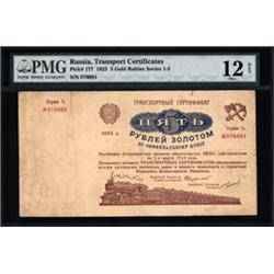 Transport Certificates, 1923-24 Issue.