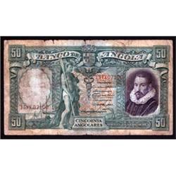 Banco De Angola and Republica Portuguesa Banknote Pair.