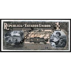 Republica Dos Estados Unidos Do Brasil - Thesouro Nacional Issued Banknote - Low Serial #29.