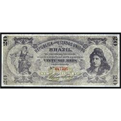 Republica Dos Estados Unidos Do Brasil - Counterfeit Banknotes From ABN Security Research Department